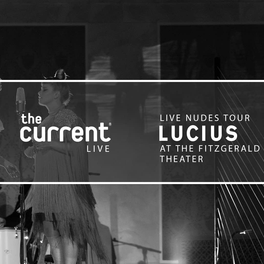 Lucius Live Nudes Tour Slate Fitzgerald