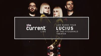 Watch Lucius live from the Fitzgerald Theater for their 'Live Nudes' tour