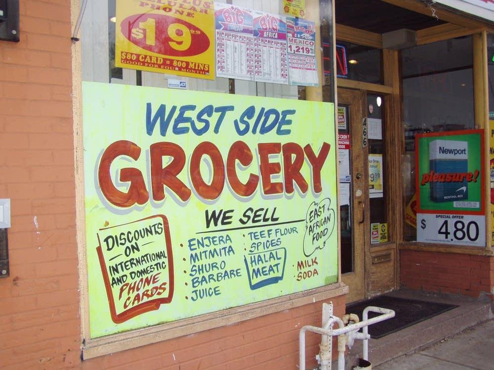 A halal store