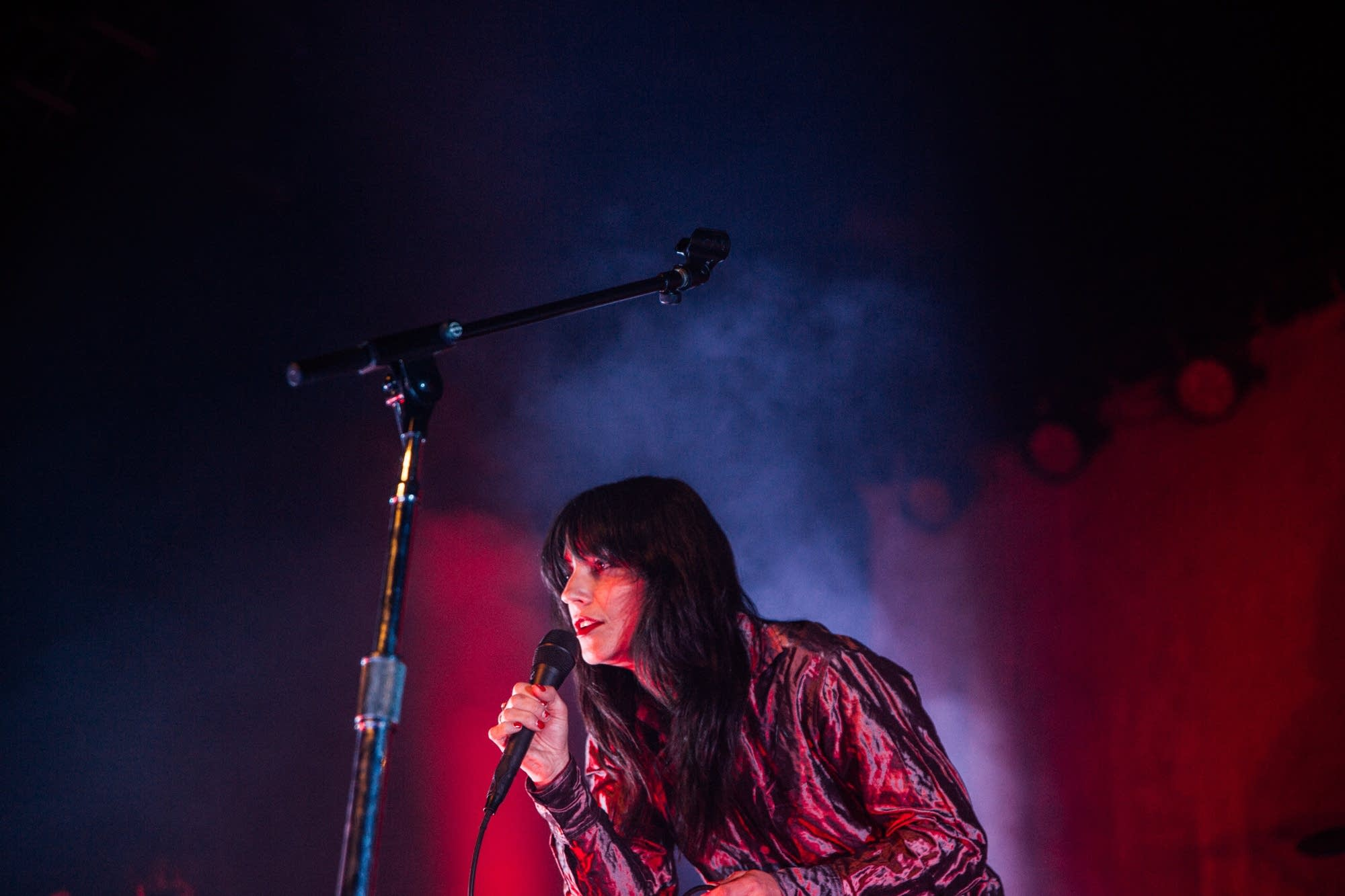 Sharon Van Etten performs at First Avenue on Feb. 16, 2019.