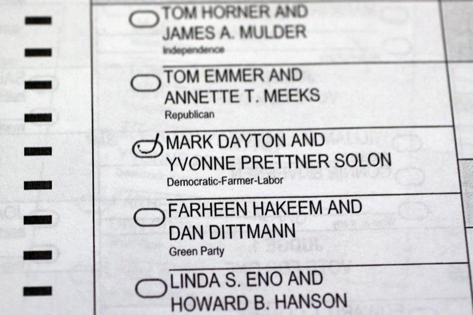 Challenged ballot