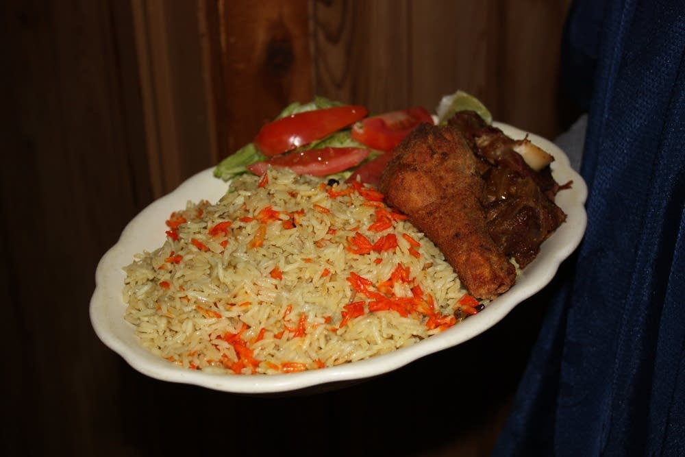 Traditional Somali food