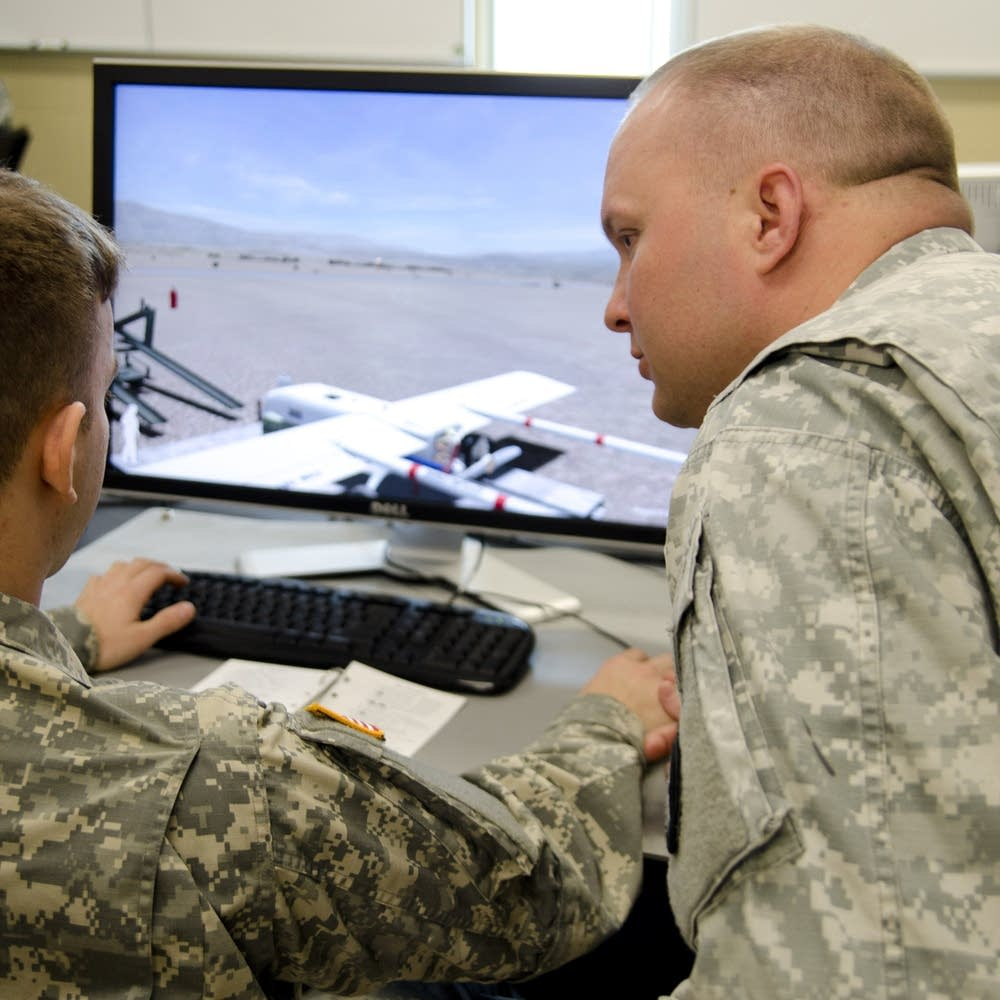 Military drone training comes to Camp Ripley | MPR News