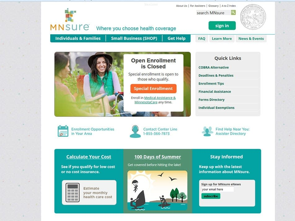 About mnsure | insure duluth.