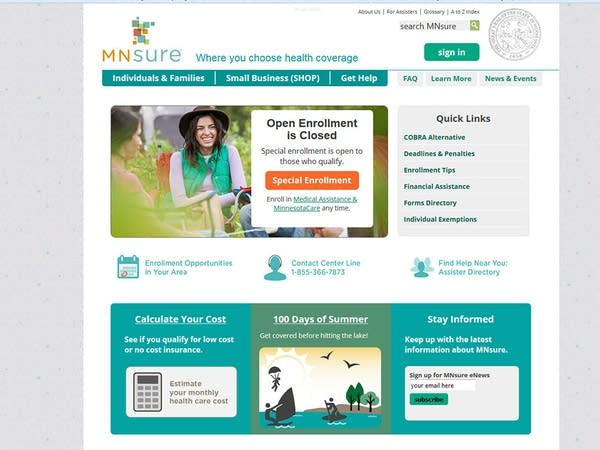 Mnsure: a new world of opportunities for affordable health.