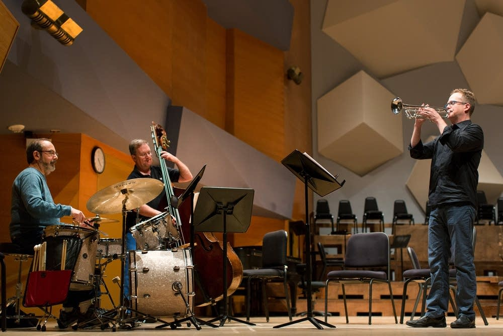 Rehearsing for jazz collaboration