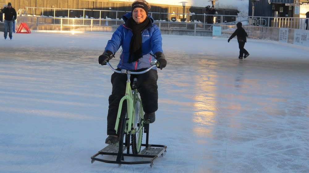 ice bikes gain traction in bitterly cold buffalo  new york