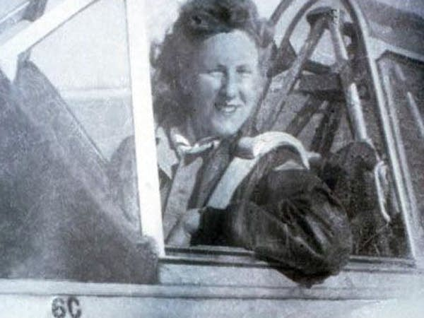 Strohfus in the pilot's seat