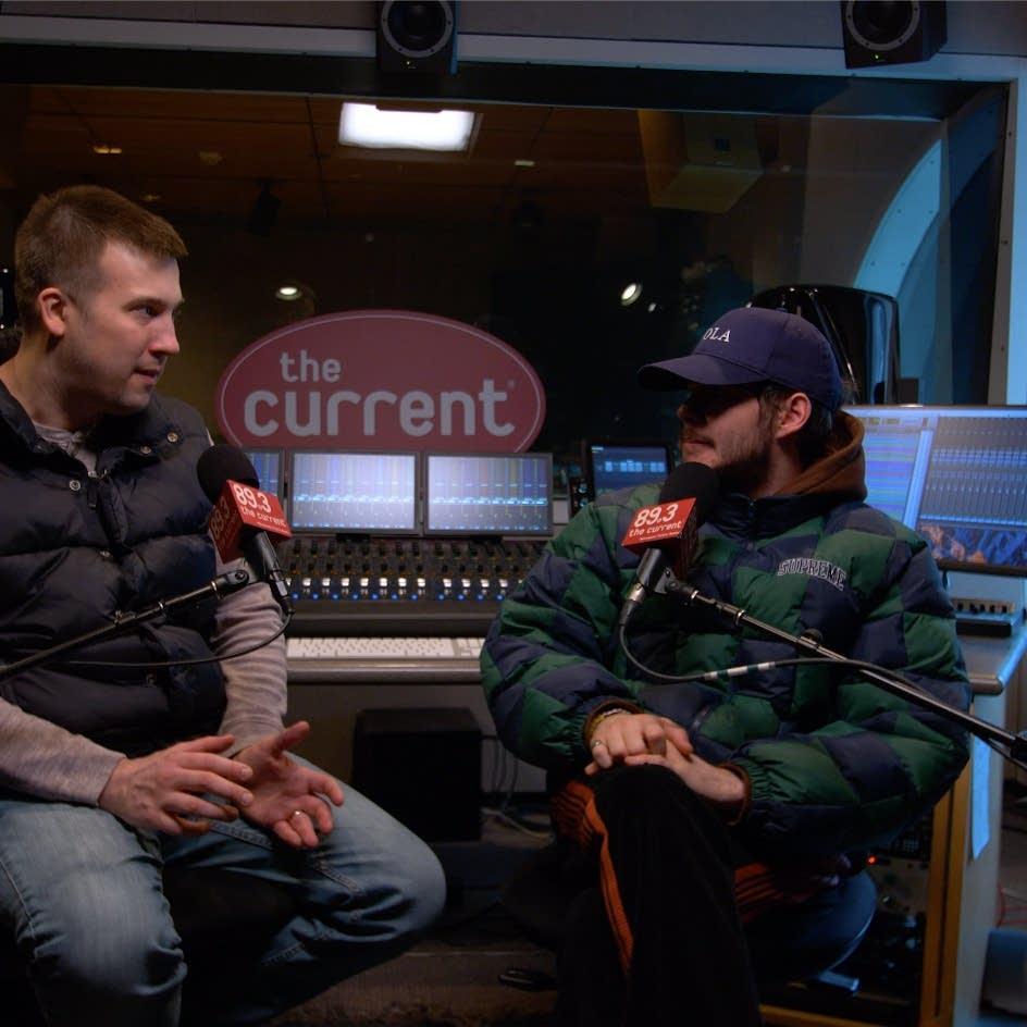 Rex Orange County interview with Mac Wilson