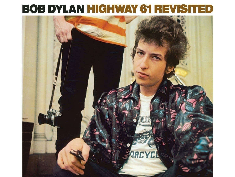 Bob Dylan 'Highway 61 Revisited' album cover.