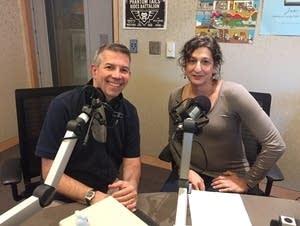 Steve Staruch with Freya Richman
