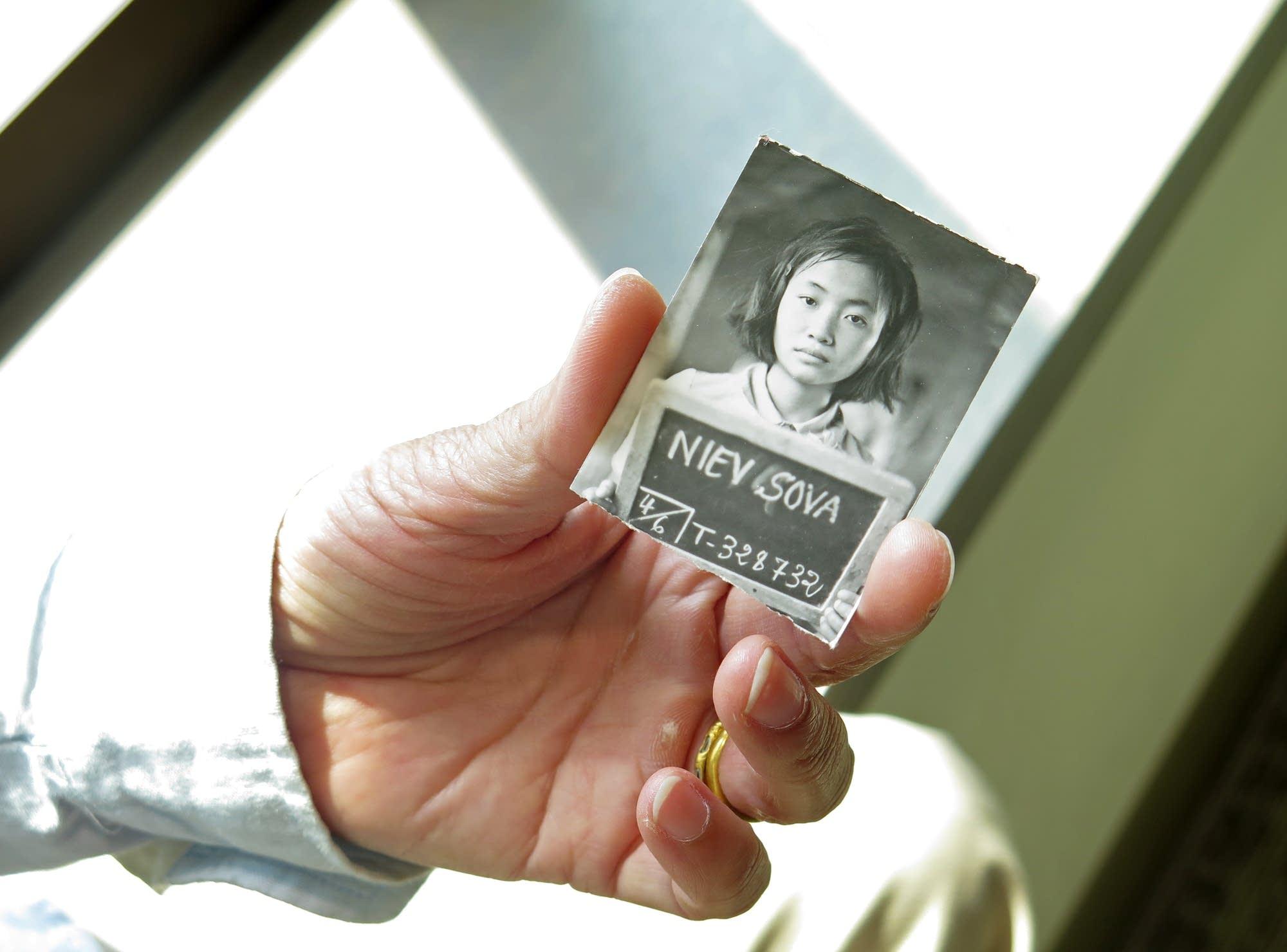 An identification photo of Sova Niev.