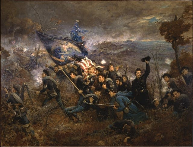 'The Second Minn. Regiment at Missionary Ridge'