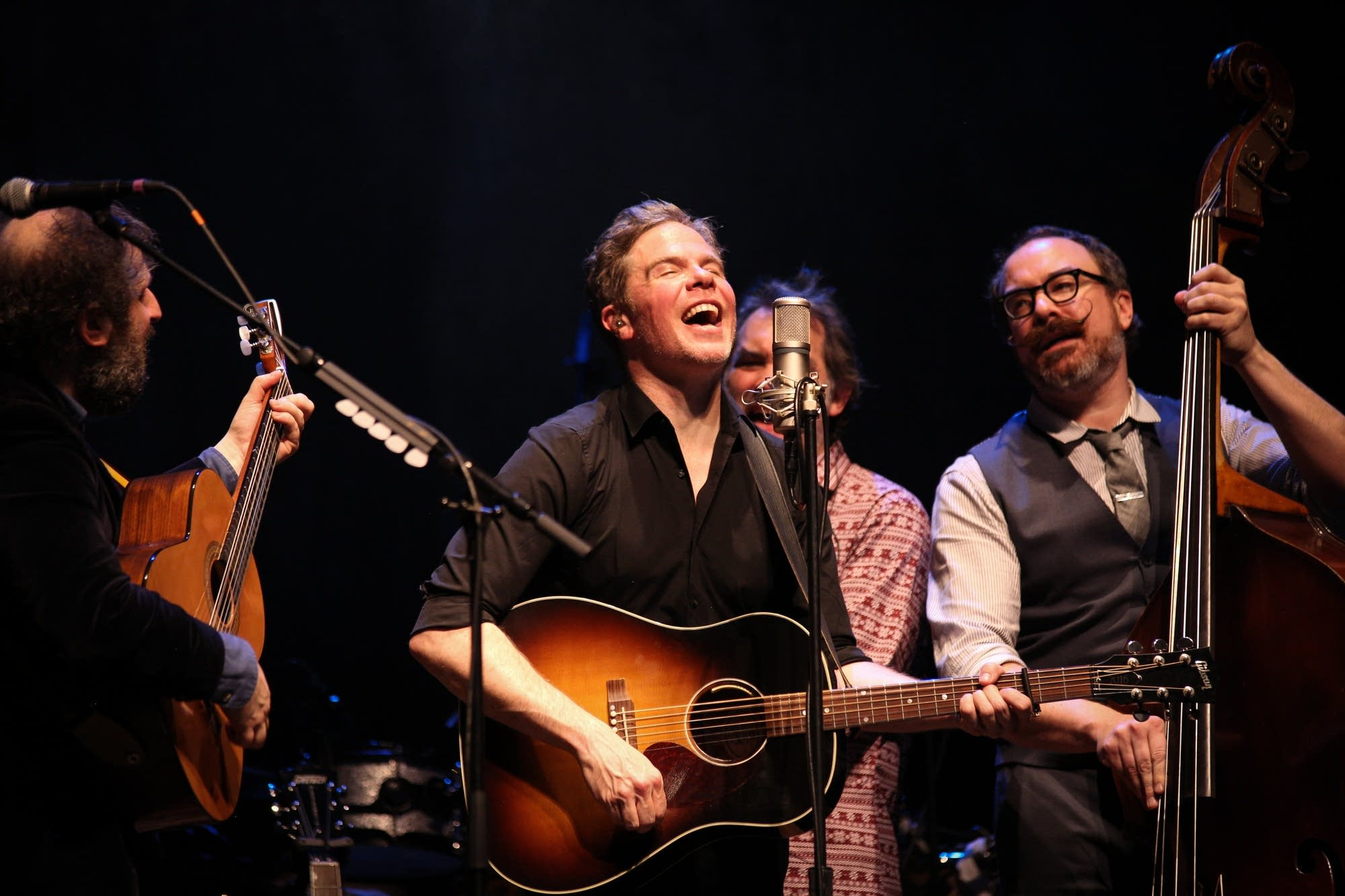 Josh Ritter performs at the Fitzgerald Theater