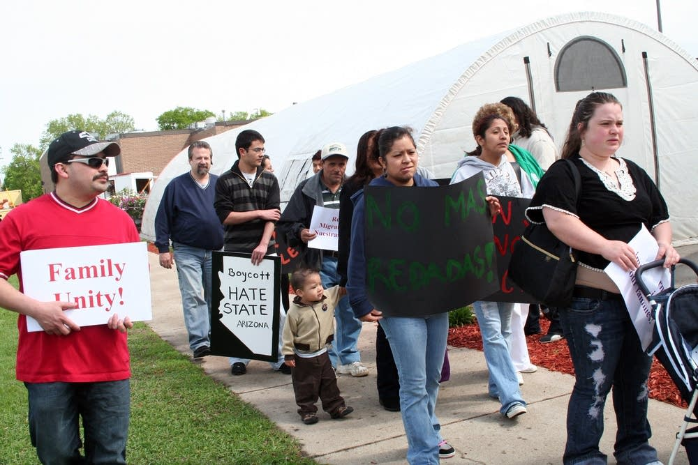 Immigration demonstration