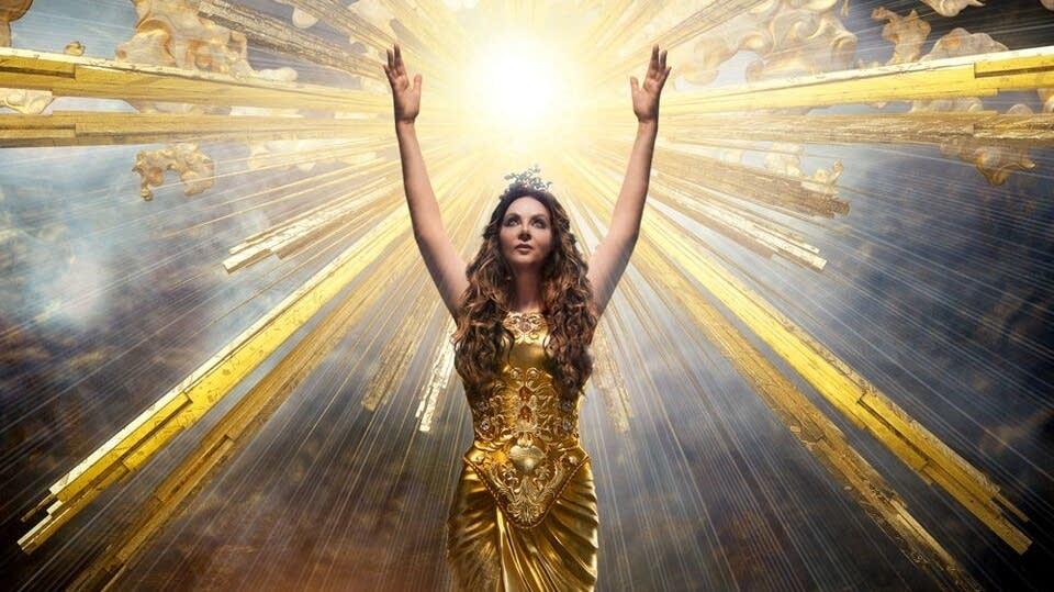 Cover art for Sarah Brightman's latest album, 'Hymn.'