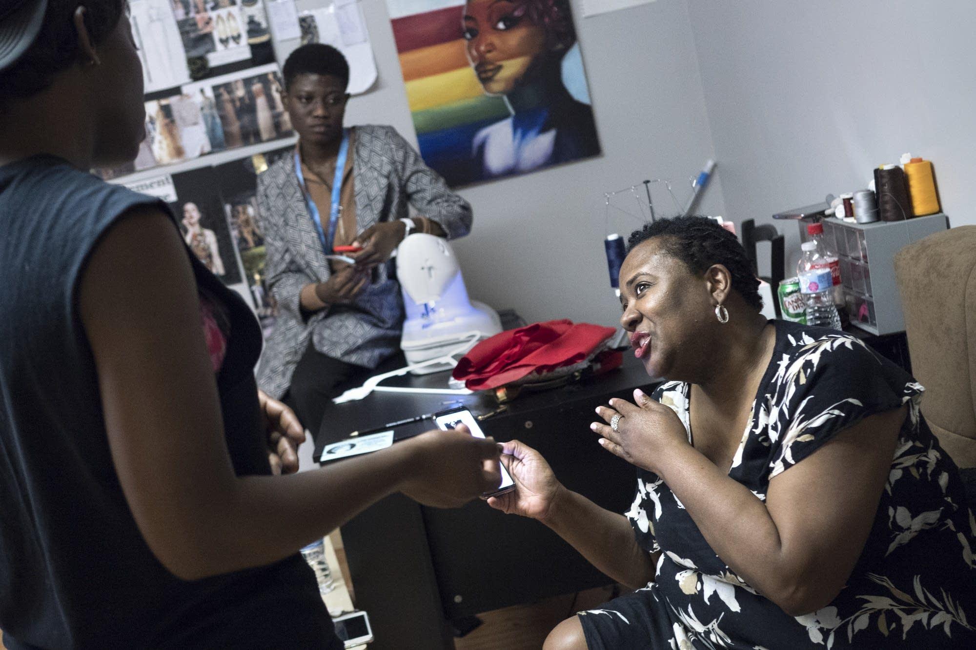 Black Fashion Week founder Natalie Morrow talks with Jacqueline Addison.