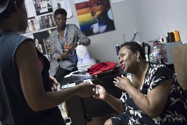 Black Fashion Week founder Natalie Morrow talks with Jacqueline Addison.