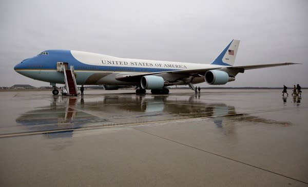 Cancel Order Trump Says New Air Force One Cost Ridiculous Mpr News
