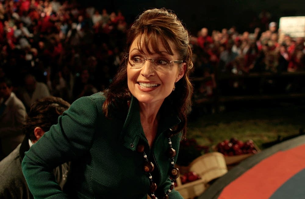 Palin campaigns in battleground Ohio