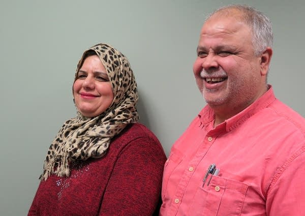 Adly Ohalley and Worood Abumayaleh