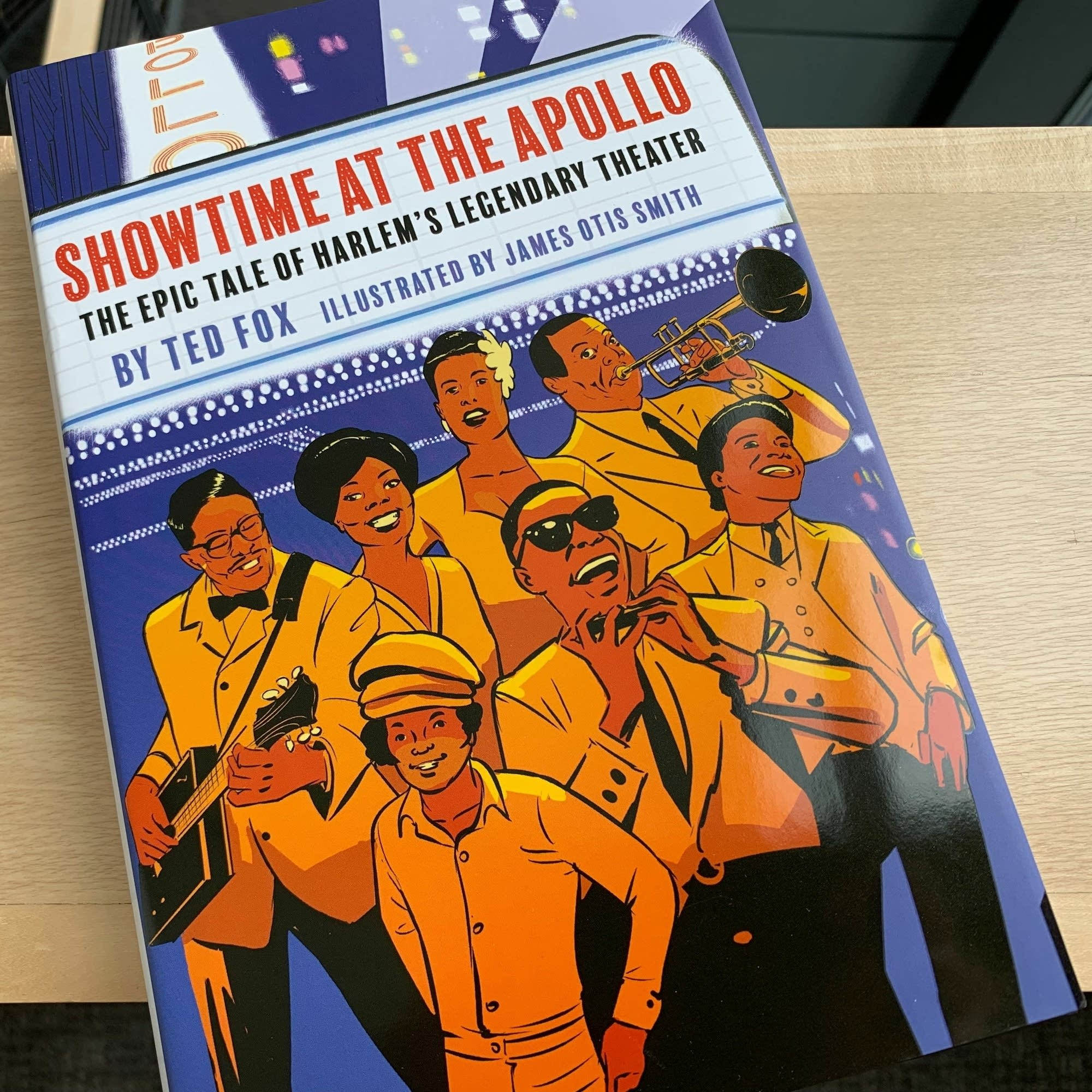'Showtime at the Apollo: The Epic Tale of Harlem's Legendary Theater.'