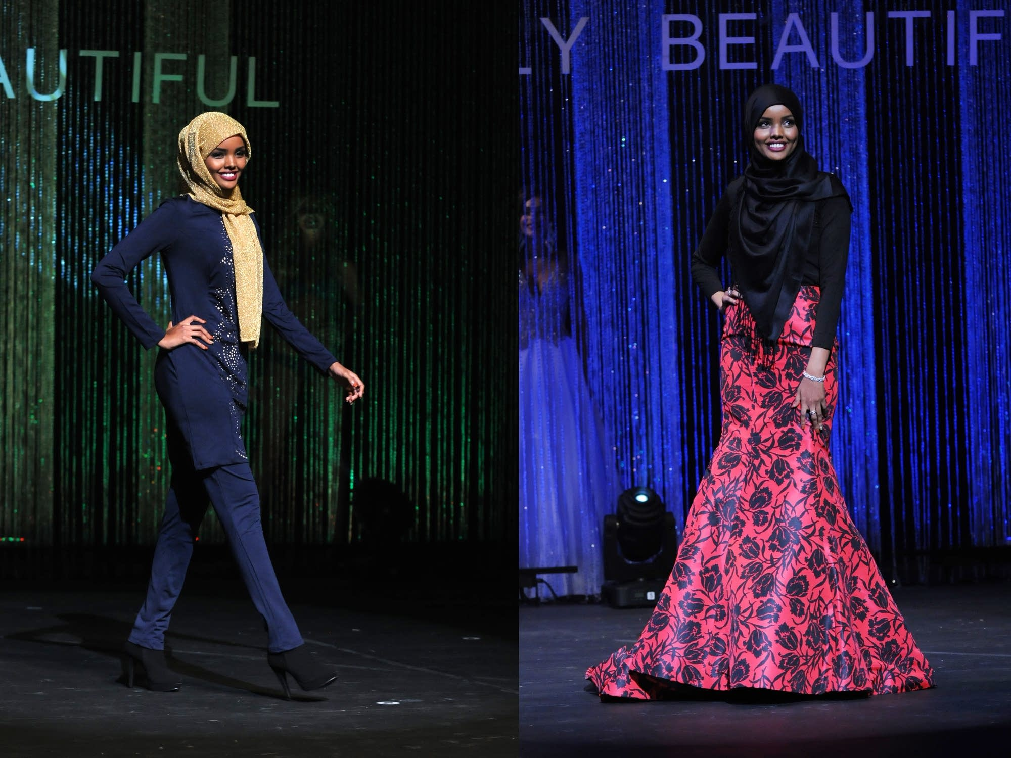 Halima Aden competed in Miss Minnesota USA.