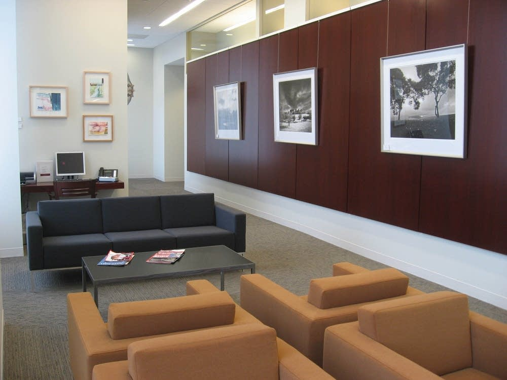 The lobby in the new Mill City Clinic