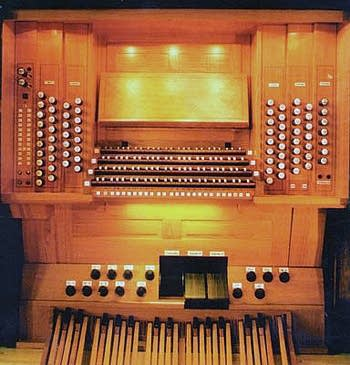 1999 Eule organ at Saint Michael's Church, Schwabmünchen, Germany