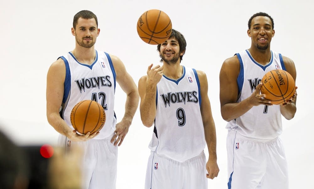 Kevin Love, Ricky Rubio, Derrick Williams, David S