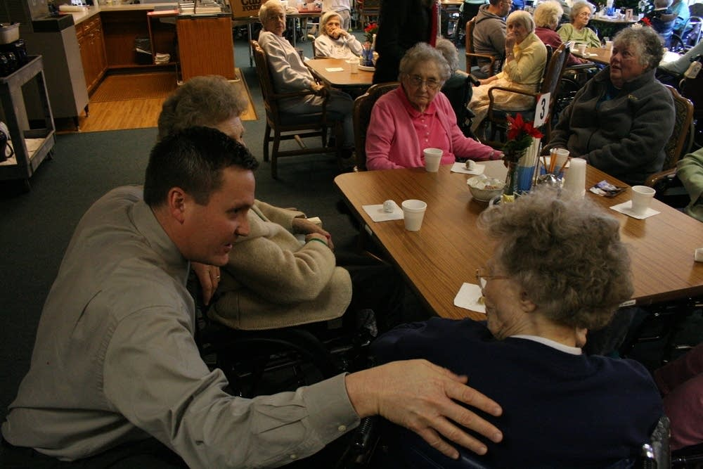 Talking with residents