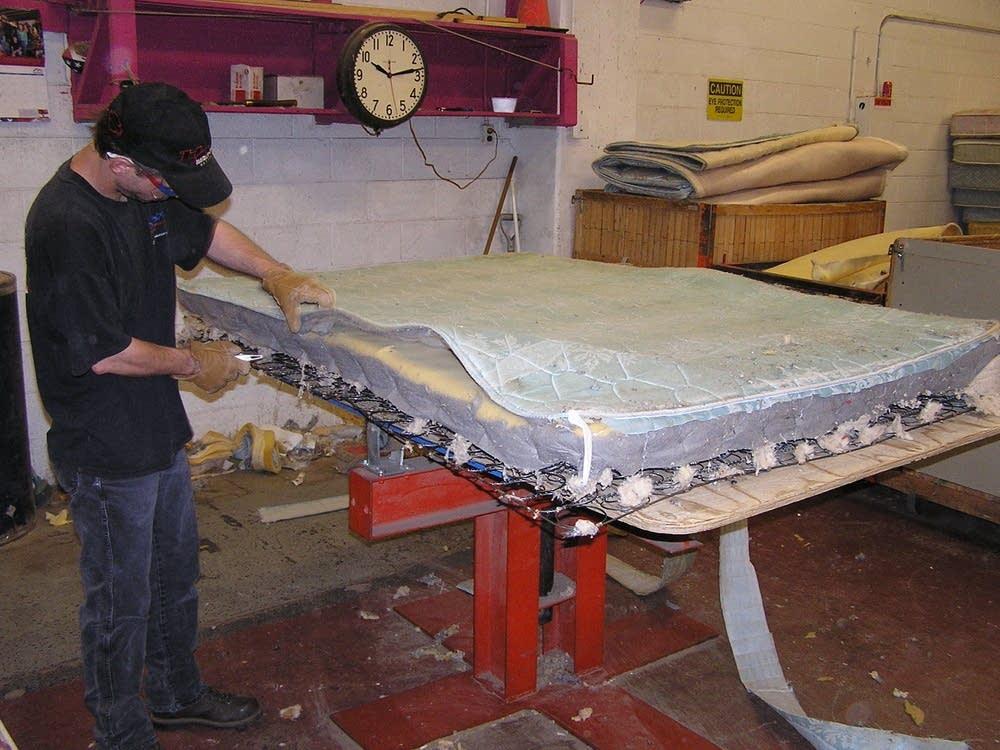 How to filet a mattress