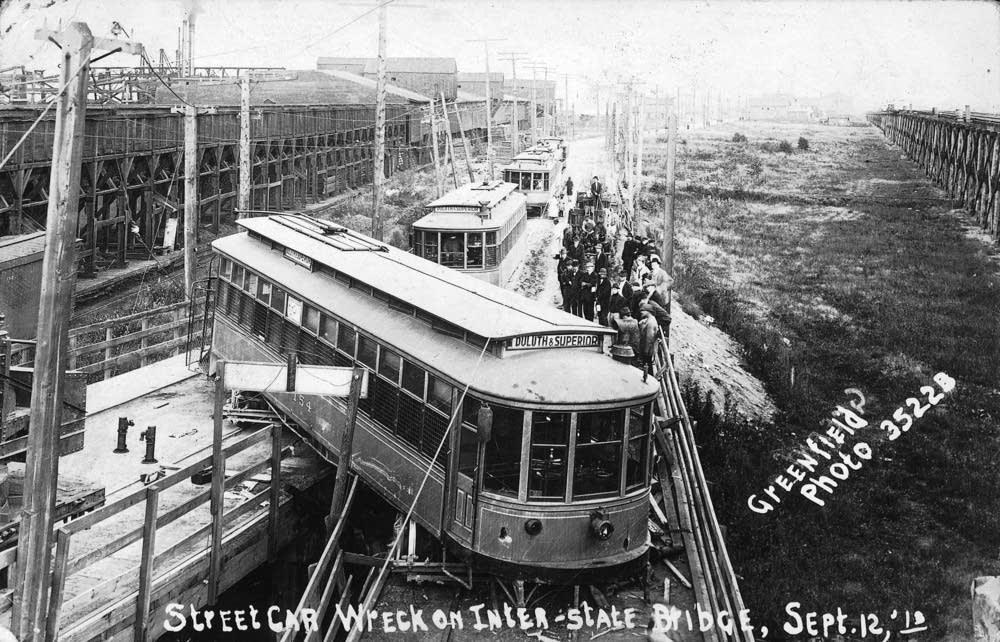 Duluth streetcar derailment