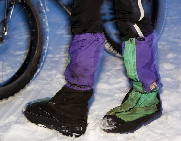 Modified climbing boots