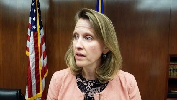 Rep. Sarah Anderson in St. Paul on Feb. 16, 2017.