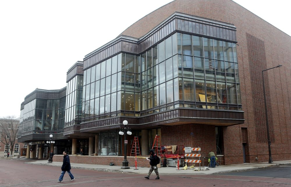 Ordway Center new exterior