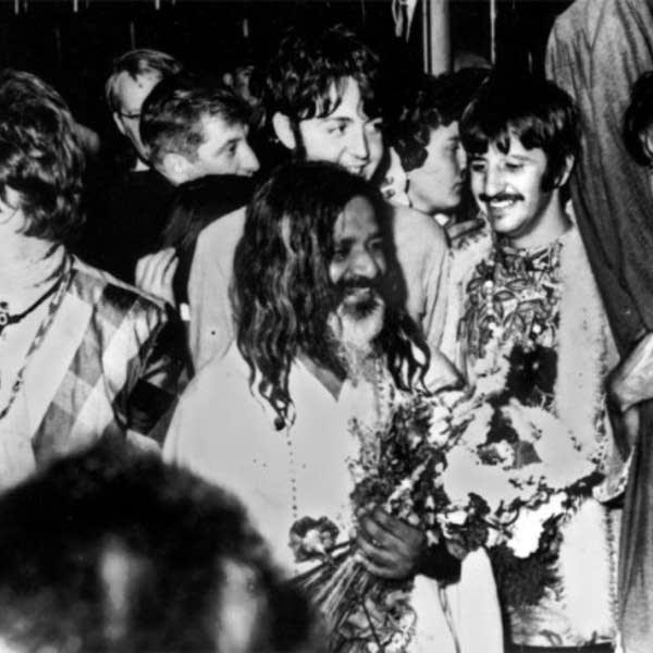Beatles and Maharishi