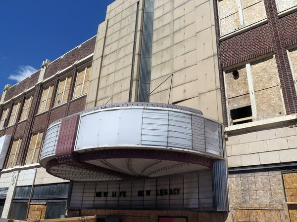The restoration of the historic NorShor Theatre is now over half finished.
