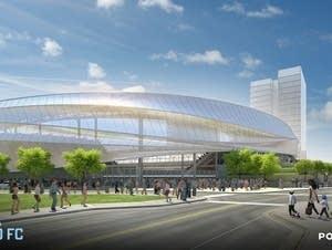 New soccer stadium rendering