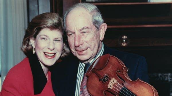Nina Totenberg and her father, Roman.