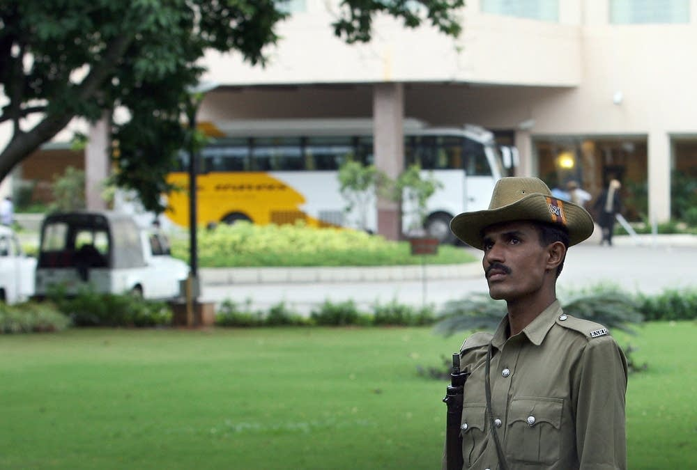 Indian policeman