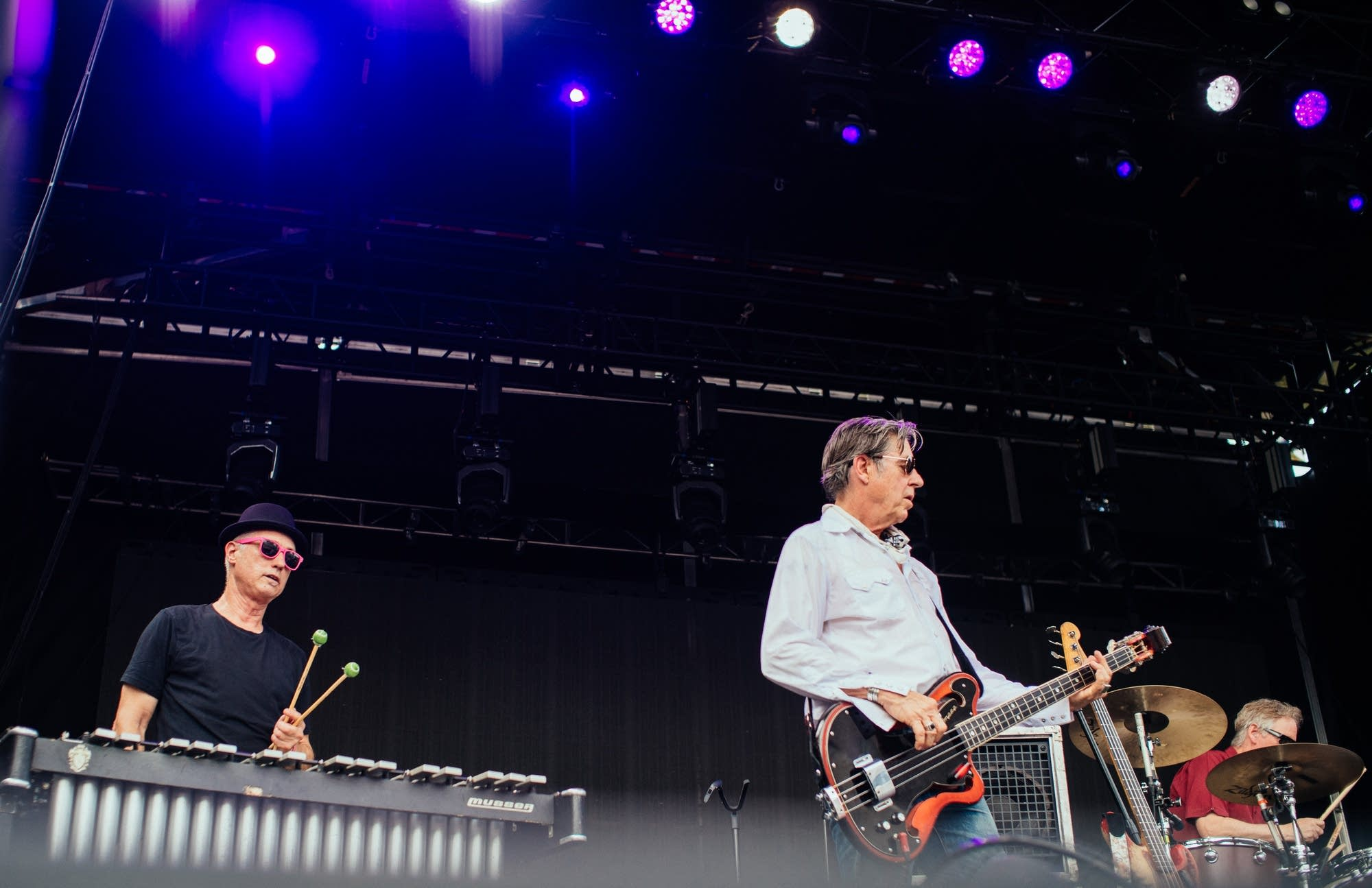 X perform at Rock the Garden 2019