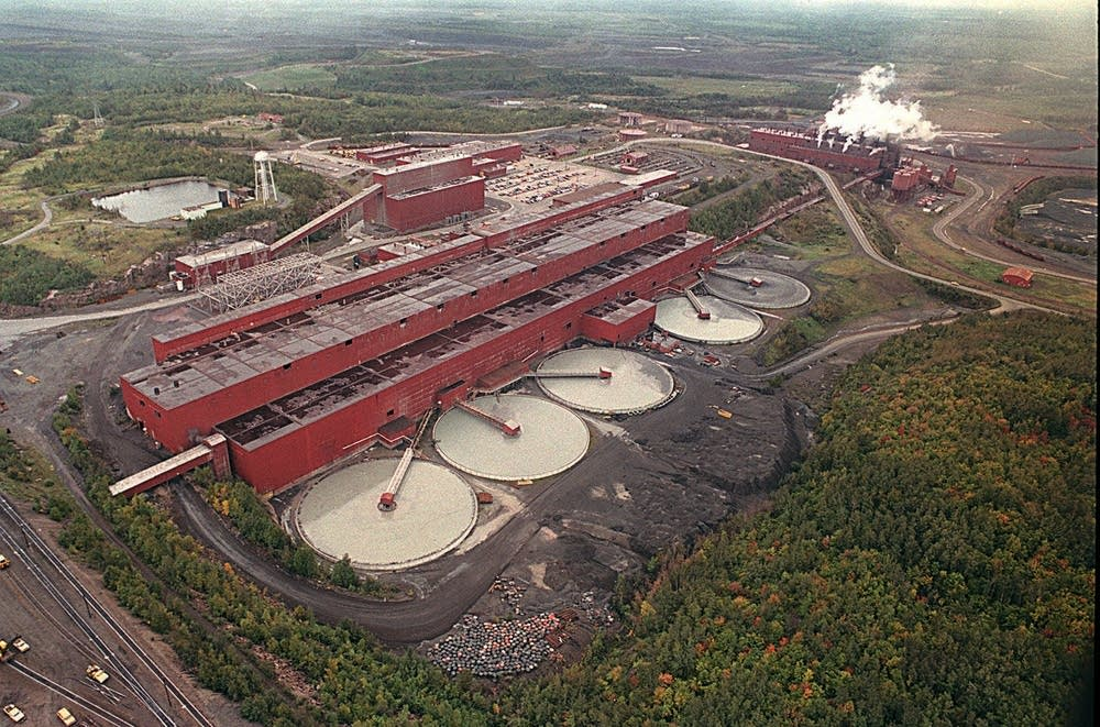 LTV Steel processing plant