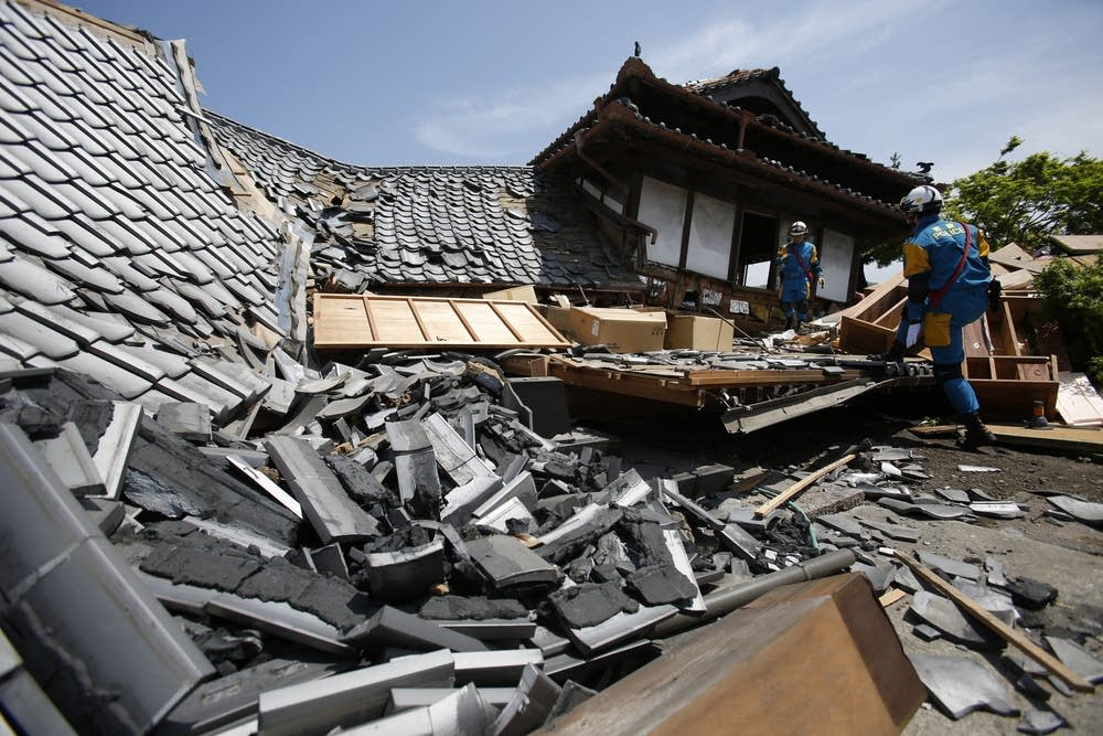 recent earthquakes in japan .