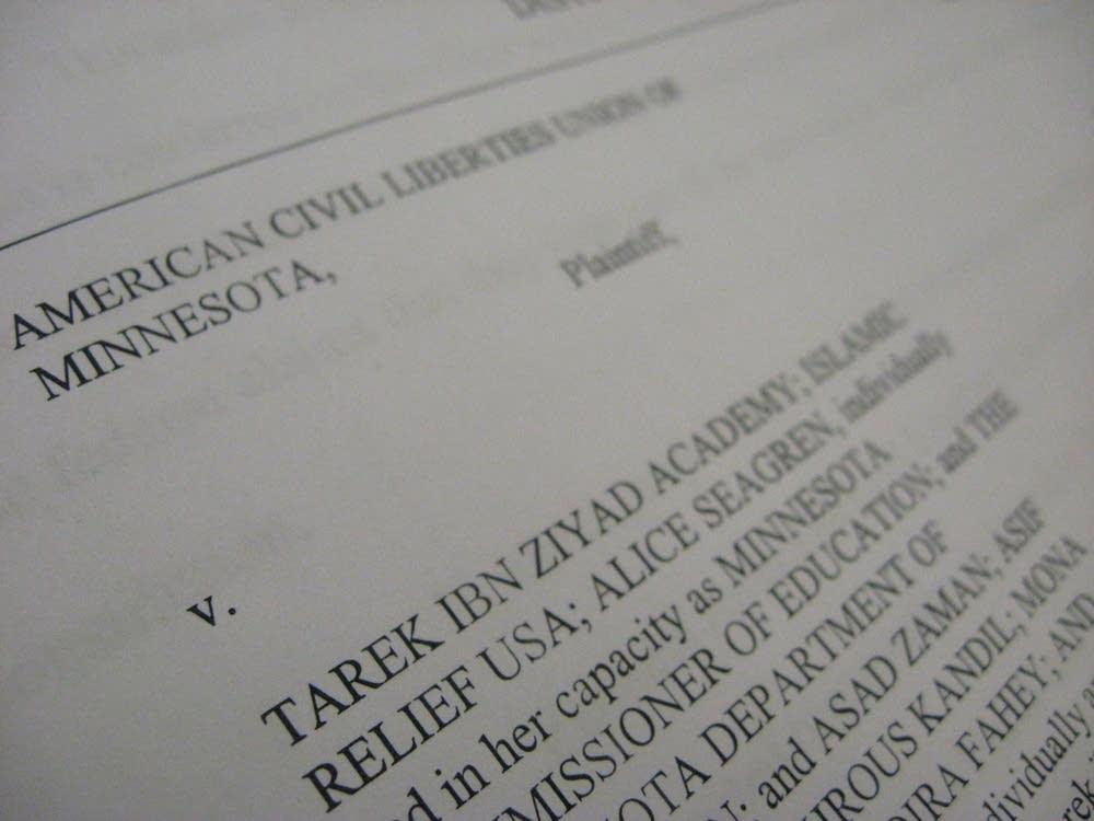 ACLU lawsuit