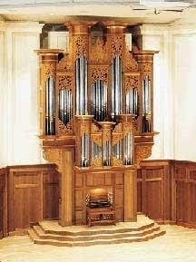 1995 John Brombaugh organ at Lawrence University, Appleton, WI
