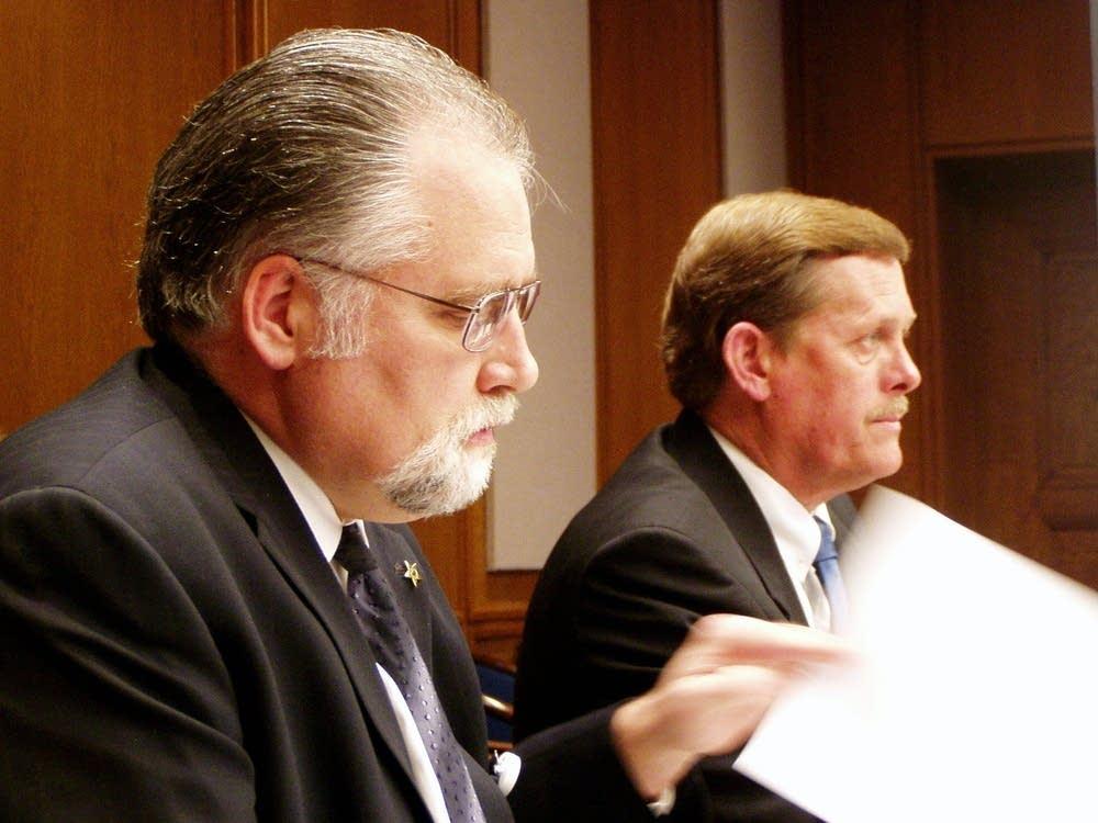 Charles Cox and Jeff Johnson