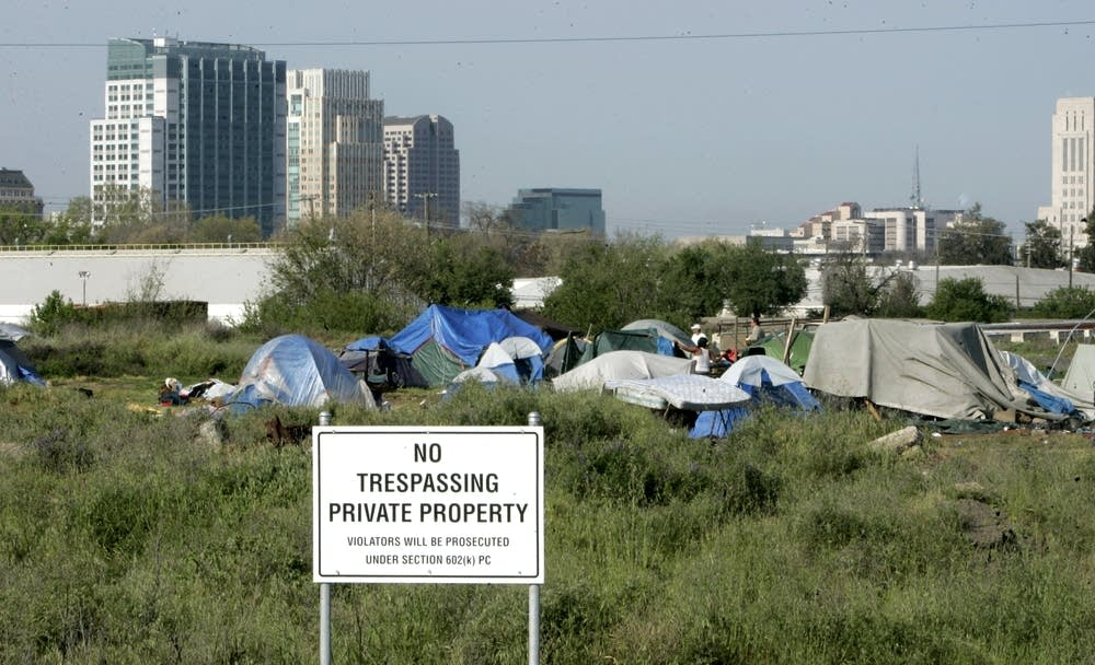 California tent city