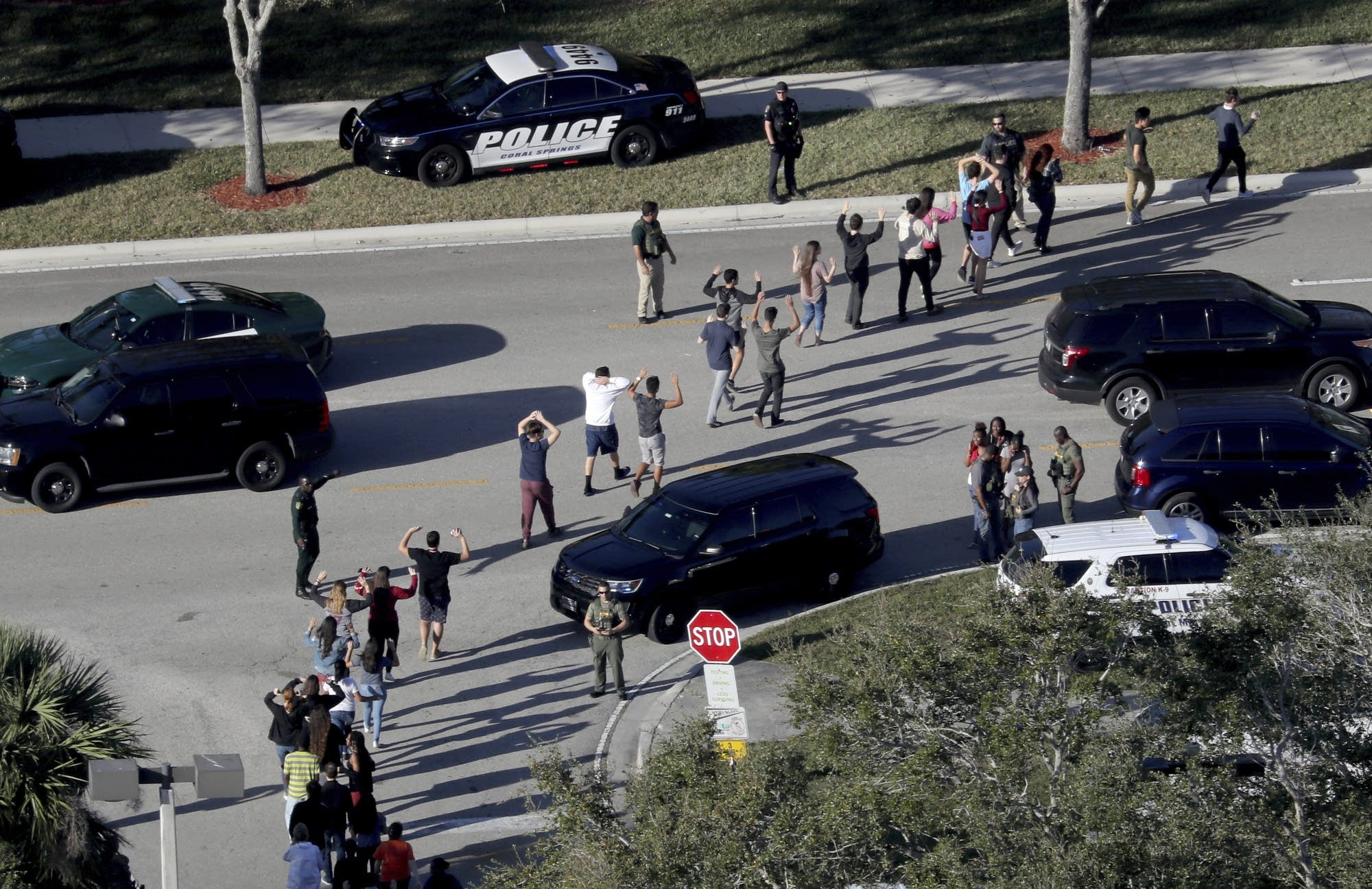 Broward County Sheriff Releases Video Of Deputy's Inaction during Parkland Shooting