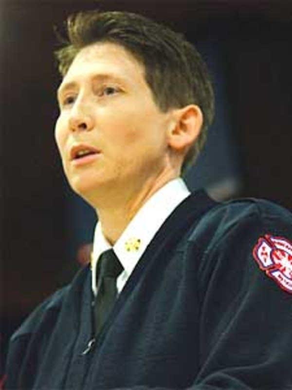 Minneapolis Fire Chief Bonnie Bleskachek